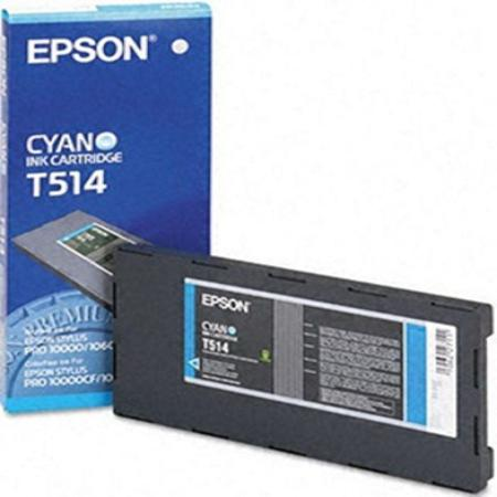 Epson T514011 (T514) Original Cyan Ink Cartridge