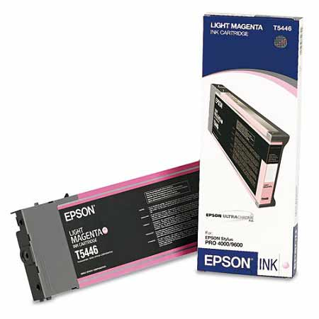 Epson T544600 Light Magenta Original UltraChrome Ink Cartridge