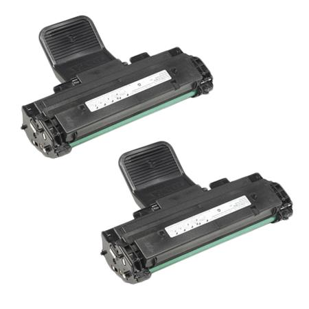 ML-2010D3 Black Remanufactured Toner Cartridge Twin Pack