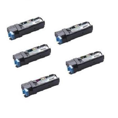 Compatible Multipack Dell 331-0719/331-0716/18  2 Full Set + 2 EXTRA Toner Cartridges
