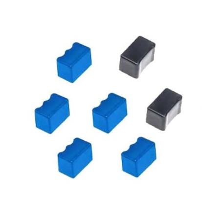 Compatible 5 Cyan/2 Black Xerox 016182500 Solid Ink Cartridge