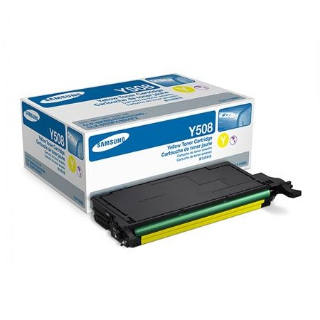 Samsung CLT-Y508S Yellow Original Toner Cartridge