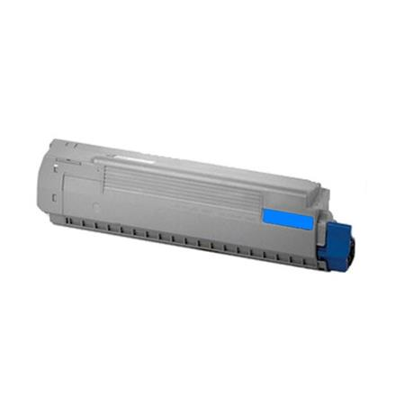 OKI 44059111 (Type C14) Cyan Remanufactured Laser Toner Cartridge