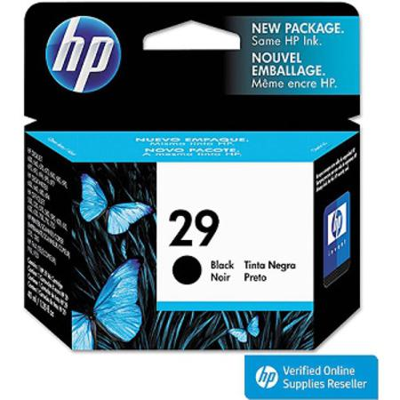 HP 29 Black Original Inkjet Print Cartridge (51629A)