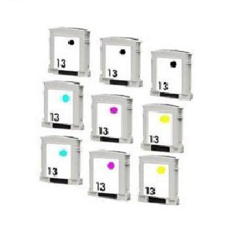 Compatible Multipack HP 13BK/C/M/Y 2 Full Sets + 1 EXTRA Black Ink Cartridges