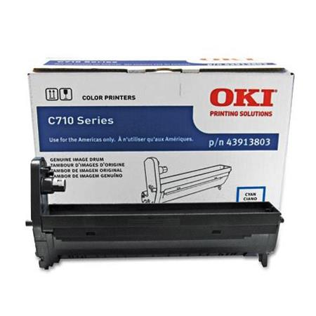 OKI 43913803 Cyan Original High Capacity Drum Unit