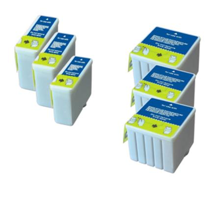 Compatible Multipack Epson T050/T053 3 Full Sets Ink Cartridges