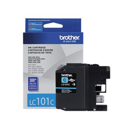 Brother LC101C Cyan Original Standard Capacity Ink Cartridge