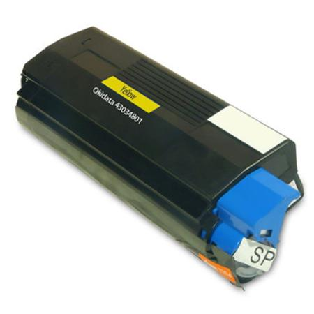 Compatible Yellow Oki 43034801 Toner Cartridge