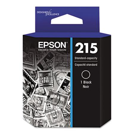 Epson 215 (T215120) Black Original Standard Capacity Ink Cartridge