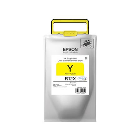 Epson R12X Yellow Original High Capacity Ink Pack (TR12X420)