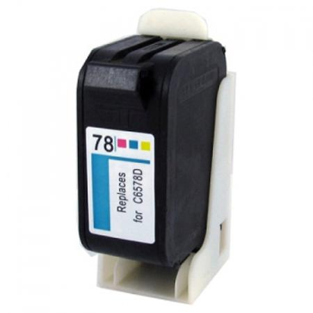 HP 78 TriColor Remanufactured Printer Ink Cartridge (C6578AN)