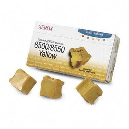 Compatible Yellow Xerox 108R00671 Solid Ink Cartridge - Pack of 4