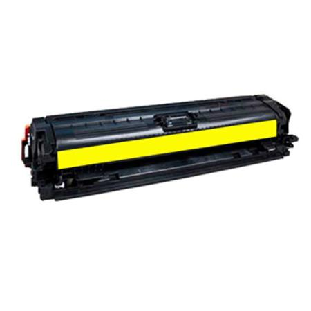 HP 650A (CE272A) Yellow Remanufacured Toner Cartridge