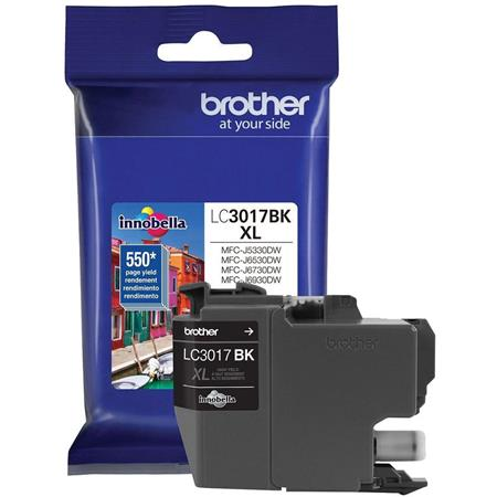 Brother LC3017BK Black Original High Capacity Ink Cartridges