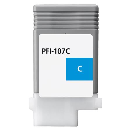 Compatible Cyan Canon PFI-107C Ink Cartridge (Replaces Canon 6706B001AA)