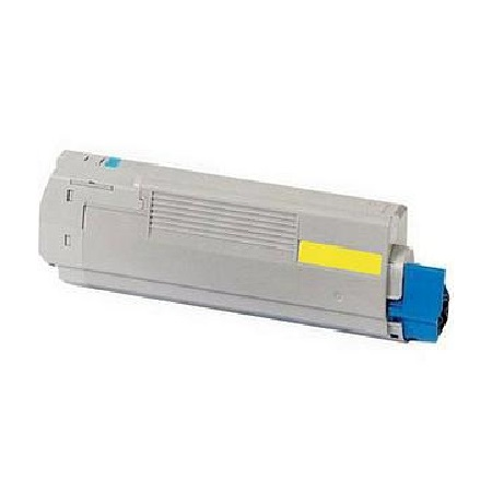 OKI 45536421 Yellow Original Toner Cartridge