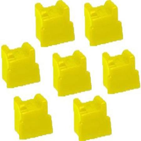 Compatible Yellow Xerox 108R00748 Solid Ink Cartridge - Pack of 7