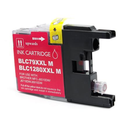 Compatible Magenta Brother LC79M Extra High Yield Ink Cartridge