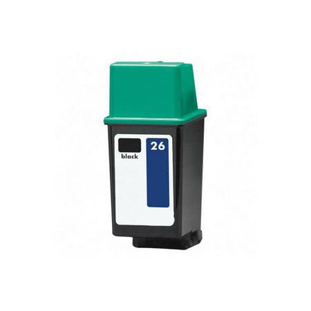 Compatible Black HP 26 Ink Cartridge (Replaces HP 51626A)