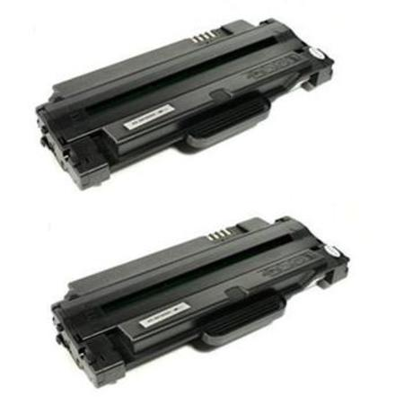 MLT-D105L Black Remanufactured Toner Cartridge Twin Pack