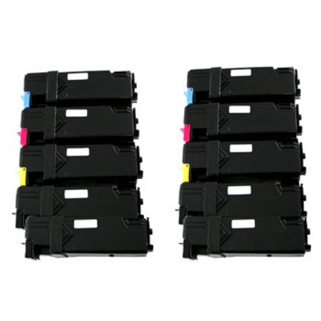 310-9058/310-9060-64 2 High Capacity Full Set + 2 EXTRA Remanufactured Toners