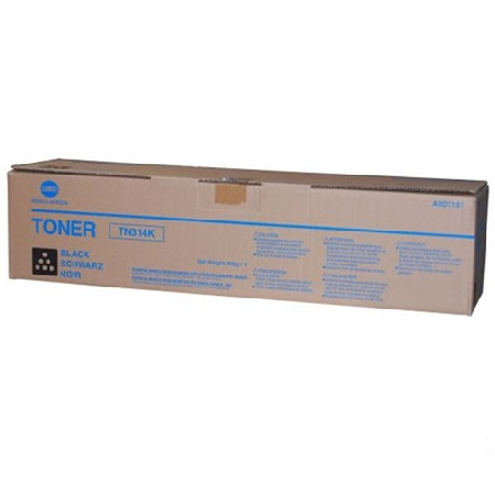 Konica Minolta TN314 Black Original Toner Cartridge