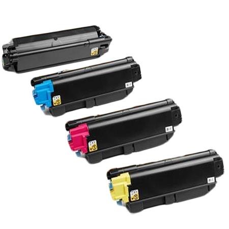 Compatible Multipack Kyocera TK-5282K/C/M/Y Full Set Toner Cartridges
