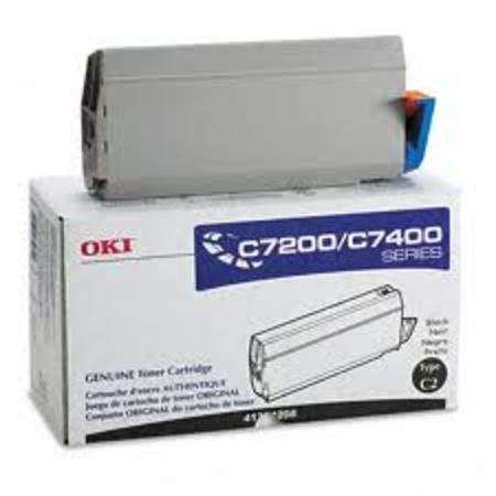 OKI 41304208 Black Original Toner Cartridge