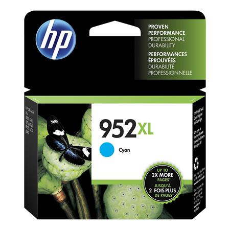 HP 952XL (L0S61AN) Cyan Original High Capacity Ink Cartridge
