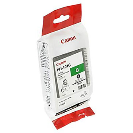 Canon PFI-101G Original Green Ink Cartridge