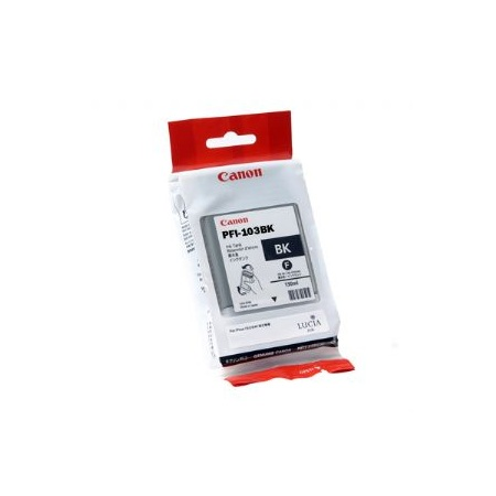 Canon PFI-103BK Original Black Ink Cartridge
