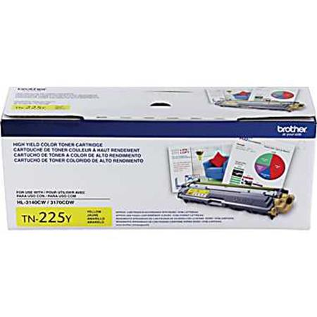 Brother TN225Y Yellow Original High Capacity Toner Cartridge