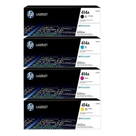 HP 414A Full Set Original Standard Capacity Toner Cartridges
