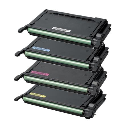 Compatible Multipack Samsung CLP-K600A Full Set Toner Cartridges