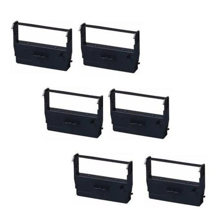 Epson ERC-37 Compatible Black Printer Ribbon (6 Pack)