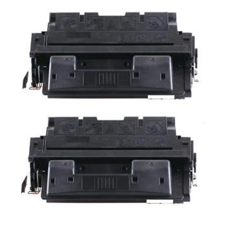 27X Black Remanufactured Toner Cartridges Twin Pack