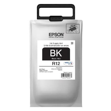 Epson R12 Black Original Standard Capacity Ink Pack (TR12120)