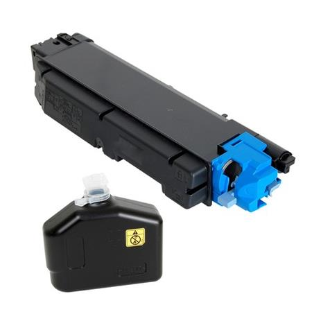 Kyocera TK-5152C Cyan Remanufactured Toner Cartridge