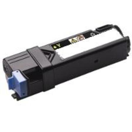 Dell 331-0718 Yellow High Capacity Remanufactured Toner Cartridge