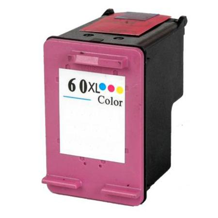 HP 60XL Remanufactured Tri-Color High Capacity Ink Cartridge (CC644WN)