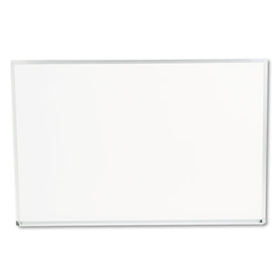 Dry-Erase Board Melamine 36 x 24 White Satin-Finished Aluminum Frame