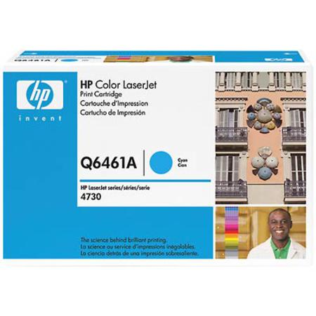 HP Color LaserJet Q6461A Original Cyan Toner Cartridge