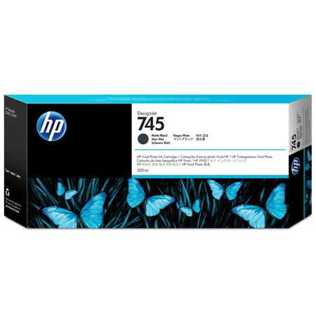HP 745 (F9K05A) Matte Black Original High Capacity Ink Cartridge