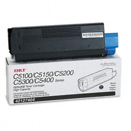 OKI 42127404 Original Black High Capacity Toner Cartridge
