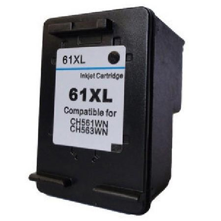 HP 61XL Black Remanufactured High Yield Ink Cartridge (CH563WN)