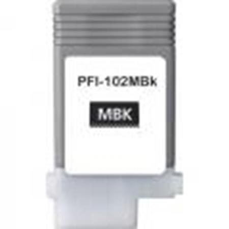 Compatible Black Canon PFI-102MBK Ink Cartridge (Replaces Canon 0895B001AA)