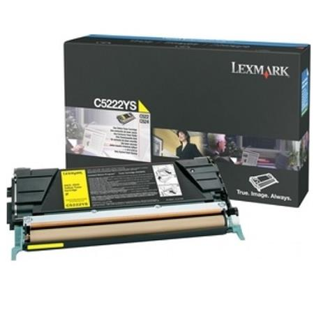 Lexmark C5222YS Original Yellow Toner Cartridge