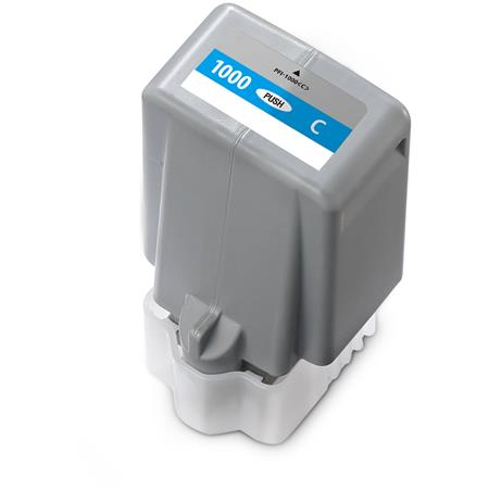 Compatible Cyan Canon PFI-1000C Ink Cartridge (Replaces Canon 0547C001)