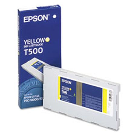 Epson T500011 (T500) Original Yellow Ink Cartridge